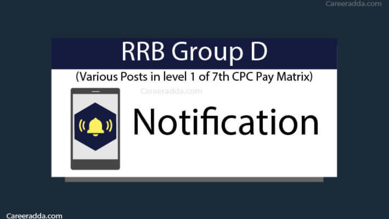 RRB Group D 2019 Notification, Apply Online, Eligibility, Syllabus