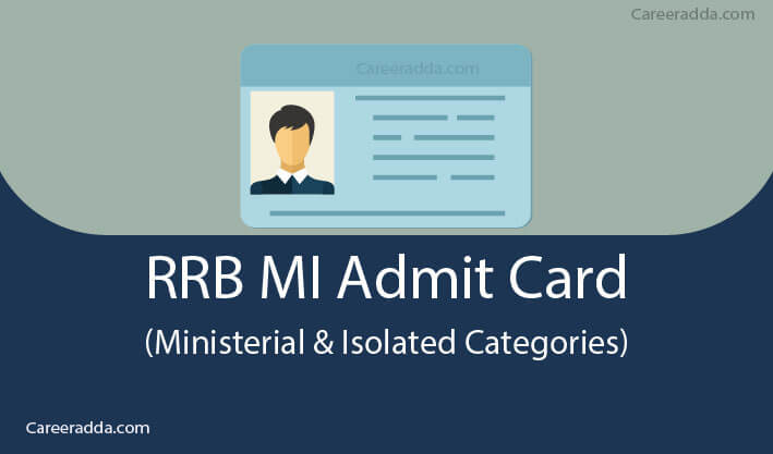 RRB MI Admit Card