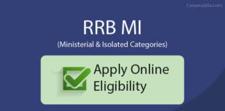RRB MI Application Form