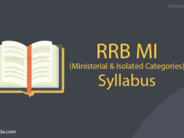RRB MI Syllabus