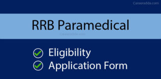 RRB Paramedical Apply Online