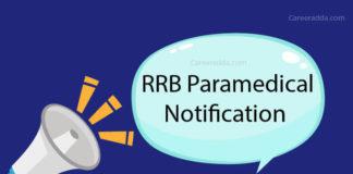 RRB Paramedical Recruitment