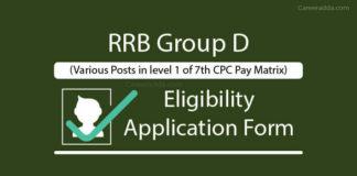Railway Group D Apply online
