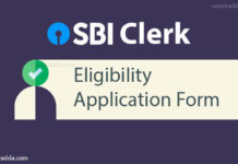 SBI clerk apply online