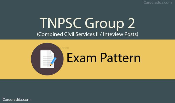 TNPSC Group 2 Exam Pattern