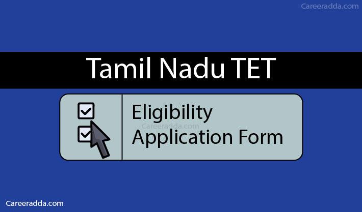 TNTET Apply Online