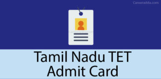 TNTET Hall Ticket