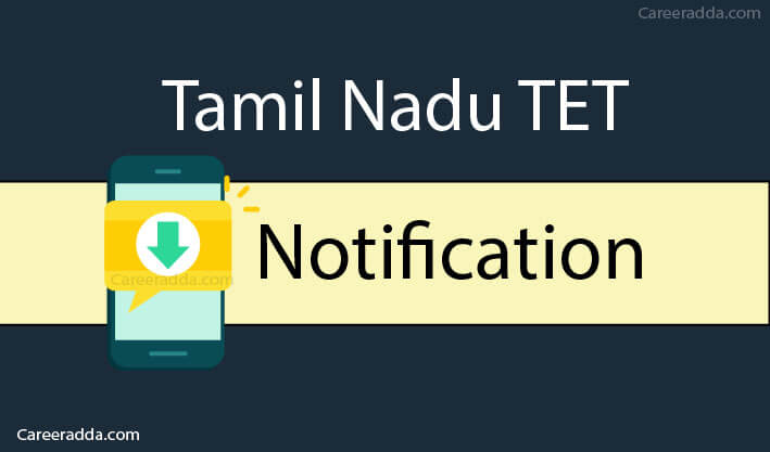 TNTET Notification