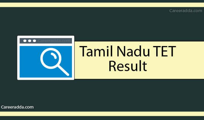TNTET Results