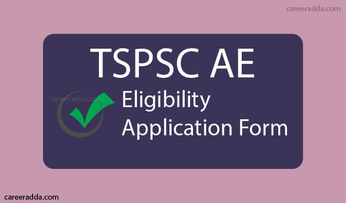 TSPSC AE Apply Online