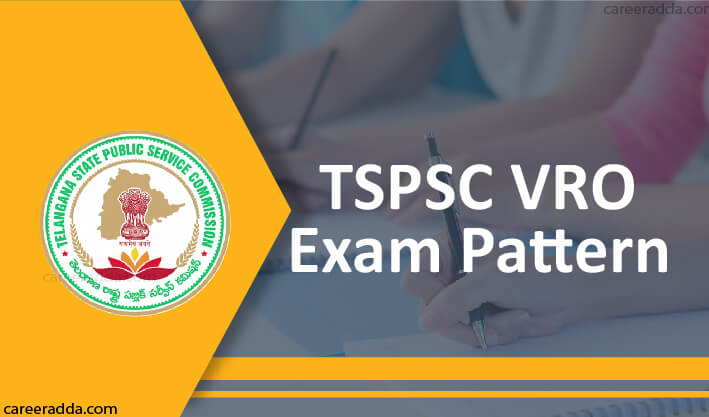 TSPSC VRO Exam pattern
