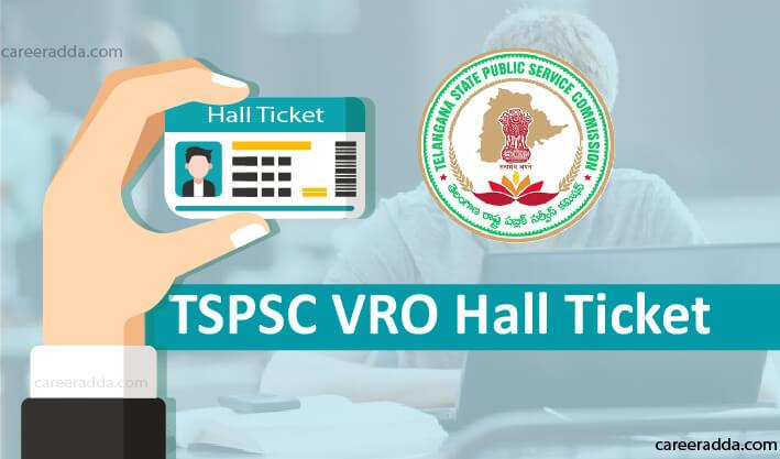 TSPSC VRO Hall Ticket