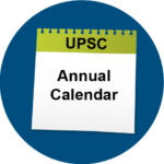 UPSC Annual Calendar
