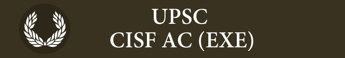 UPSC CISF AC