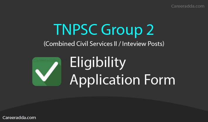 TNPSC Group 2 Apply Online