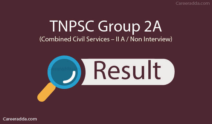 TNPSC Group 2A Results