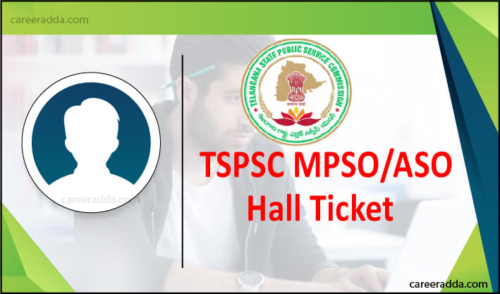 TSPSC MPSO ASO Hall Ticket
