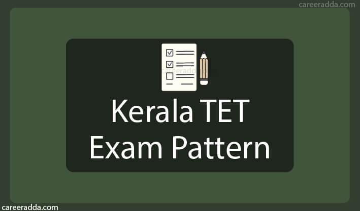 Kerala TET Exam Pattern