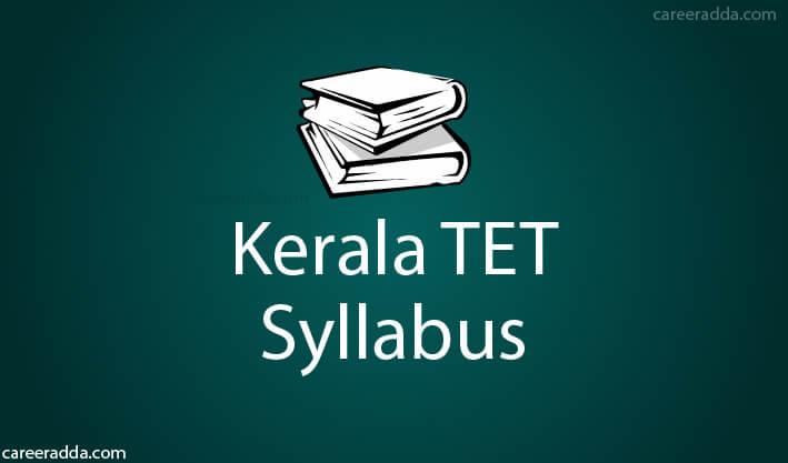 Kerala TET Syllabus