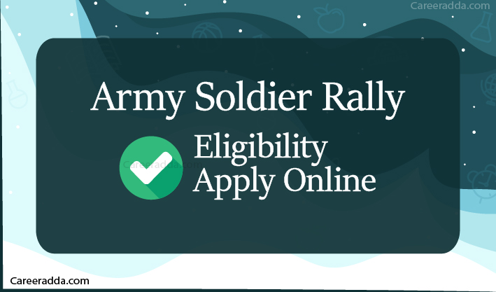 Army Recruitment Rally Apply Online