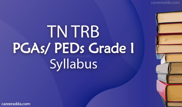 TN TRB PGA-PEDs Syllabus