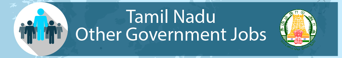 Tamil Nadu other government Jobs