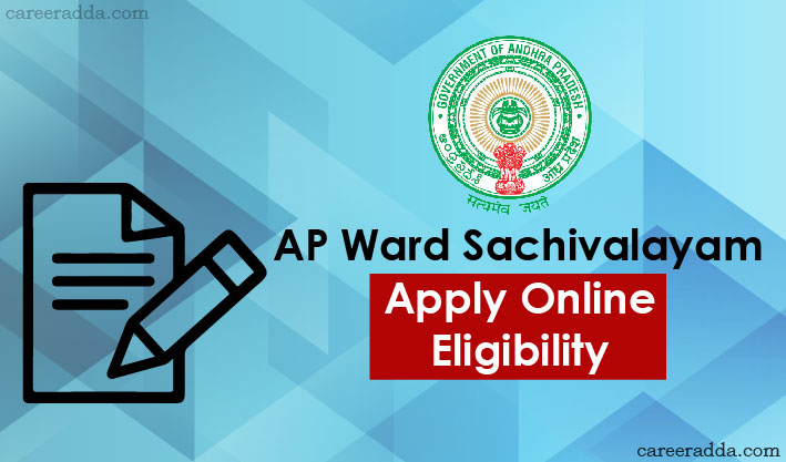 AP Ward Sachivalayam Apply Online