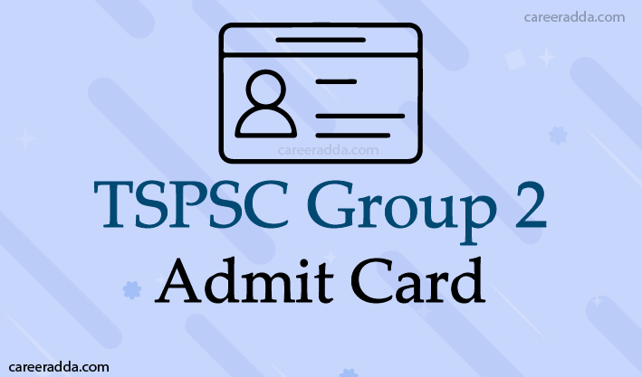 TSPSC Group 2 Hall Tickets