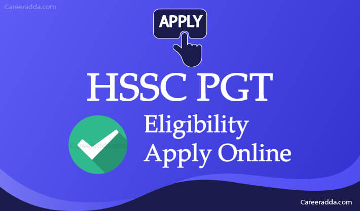 HSSC PGT Apply Online