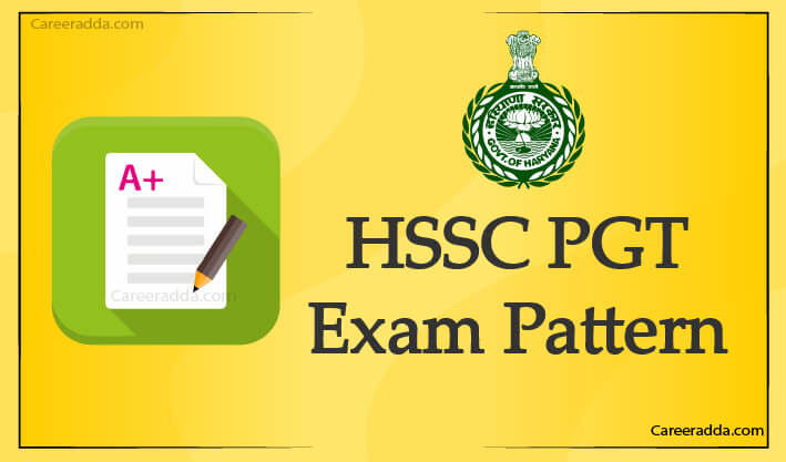 HSSC PGT Exam Pattern