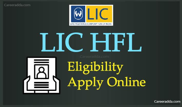 LIC HFL Apply Online