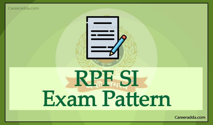 RPF SI Exam Pattern