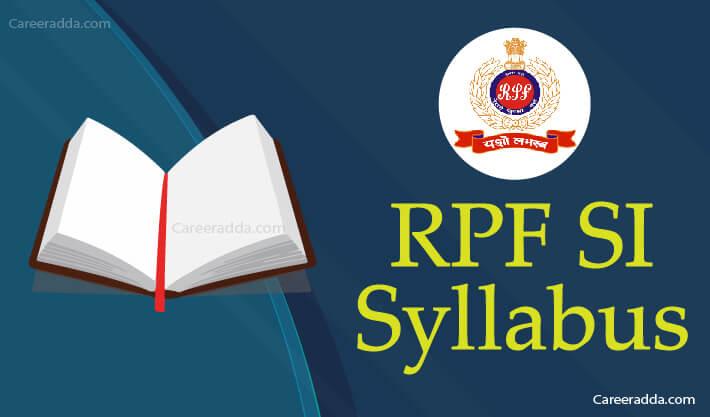 RPF SI Syllabus