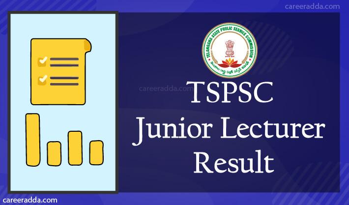 TSPSC Junior Lecturer Result