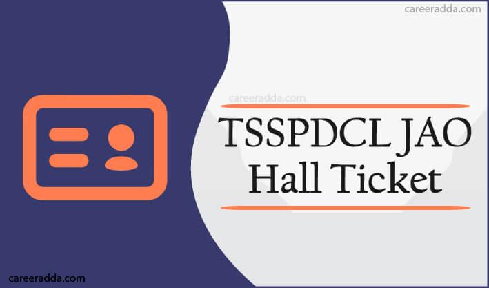 TSSPDCL JAO Hall Ticket
