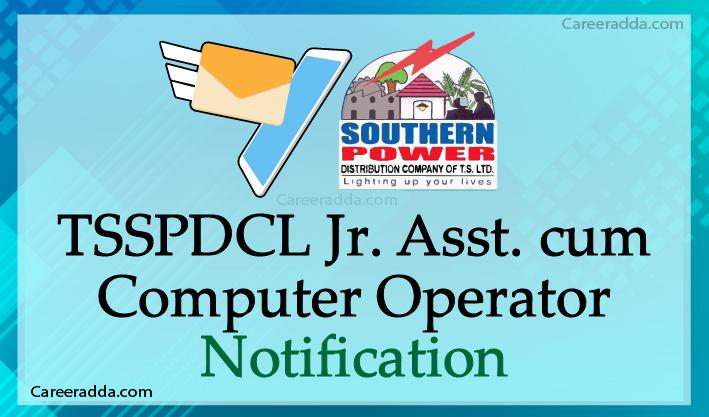 TSSPDCL Junior Assistant cum Computer Operator