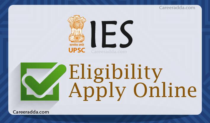UPSC IES Apply Online