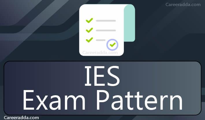 UPSC IES Exam Pattern