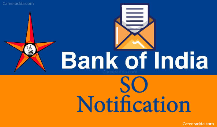 Bank of India SO