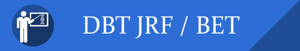 DBT JRF BET