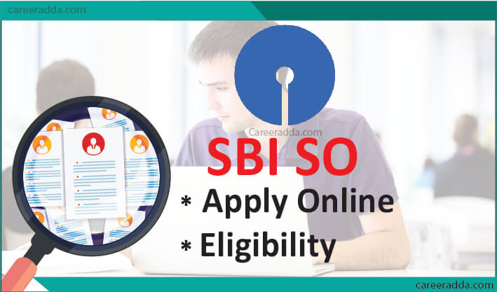 SBI SO Apply Online