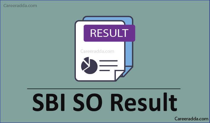 SBI SO Result