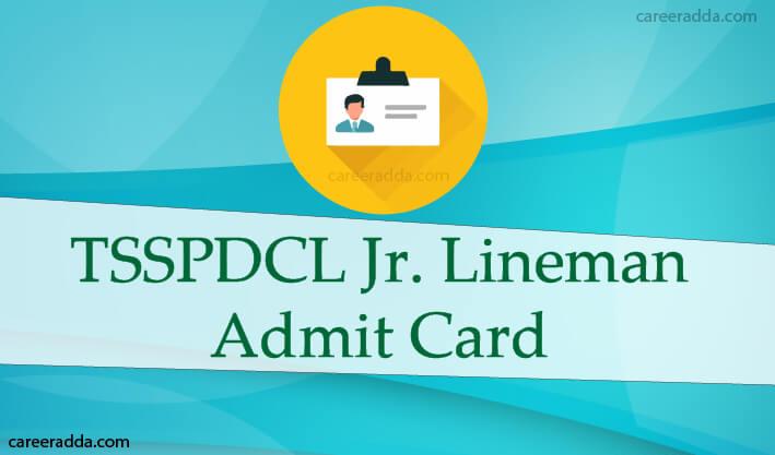 TSSPDCL Junior Lineman Hall Ticket