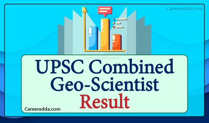 UPSC GeoScientist Result